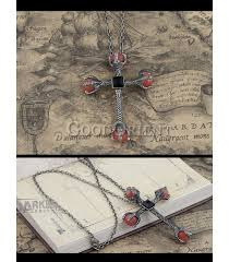 <b>Chimera</b> Necklace Pendant with Red <b>Crystal</b> - GoodOrient