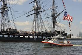 u s department of defense photo essay a 45 foot response boat escorts the uss constitution into boston harbor mass u s sen