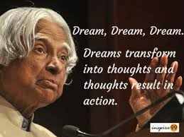 Abdul Kalam : 14 Realistic Quotes For Your Life - Inspire 99