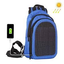 Leegoal <b>Solar Charger</b> Backpacking, <b>Removable Solar Panel</b> ...