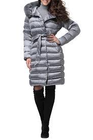 <b>Пуховое пальто Conso</b> (Консо) арт WMF 180505 - METAL GREY ...