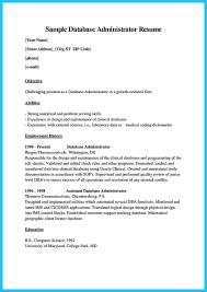 high impact database administrator resume to get noticed easily high impact database administrator resume to get noticed easily %image high impact database administrator resume