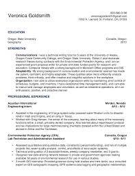 environmental engineering resume in texas   sales   engineering    sample resume  goldsmith resume environmental engineering veronicagoldsmith gmail
