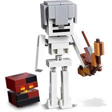 <b>Конструктор Lego Minecraft</b> 21150 <b>Большие</b> фигурки скелет с ...