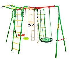 Воркаут-площадка Wunder Металл Зеленый Зеленый Гнездо ...
