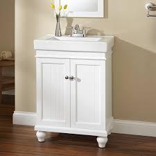 Bathroom White Vanities 24 Lander Vanity White Bathroom