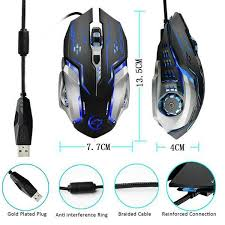 <b>YWYT G815 Gaming</b> Mouse 3200Dpi 6 Buttons Led Backlight Usb ...