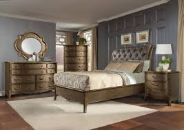 piece emmaline upholstered panel bedroom: chambord champagne gold wall mirror server mirror from homelegance   coleman furniture
