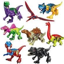 8 шт. новый камуфляж Парк Юрского периода 2 динозавра ...