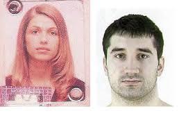 ... conocida por robos dramáticos de joyerías, pero siguen en busca de una cómplice, la guapa Bojana Mitic. Imagen para mostrar en el artículo: - a_la_izquierda_bojana_mitic_fugada_a_la_derecha_borko_ilinic_detenido_el_martes._foto.interpol