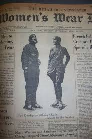 primary source highlight historic women s wear daily worn through front page