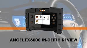 <b>ANCEL FX6000</b>: <b>Professional</b> Automotive Diagnostic Scanner Review