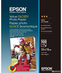 ROZETKA | <b>Фотобумага Epson Value Glossy</b> Photo Paper 10х15 см ...