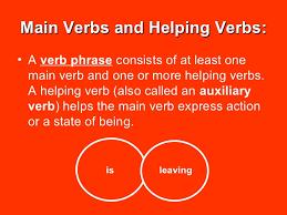 Main Verbs and Helping     SlideShare