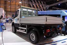 iveco daily x euro at the cv show commercial vehicle dealer iveco daily 4times4 euro 6 at the cv show 2016