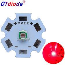 <b>100PCS</b> Epistar 3W 3535 660NM Deep Red <b>High Power</b> 660NM ...