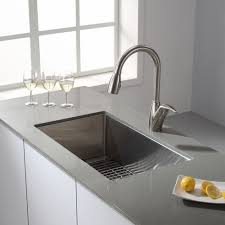 stainless steel sink racks ampquot whitehaven: soundproofing kraus inch farmhouse single bowl stainless steel kitchen sink with noisedefendamp