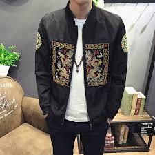 2019 Mens Jacket Casual Slim Fit Bomber Jacket Men <b>Fashion</b> ...