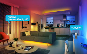 LED Strip Lights WiFi Wireless Smart Phone <b>APP</b> Controlled Sync to ...