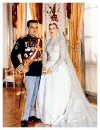 「1956年 - モナコ大公レーニエ3世がアメリカの映画俳優グレース・ケリーと結婚。」の画像検索結果