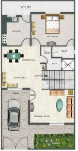 Duplex Floor Plans   Indian Duplex House Design   Duplex House Map   X  NEWS jpg