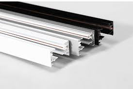 2 wires ul aluminum linear track light track for led track lighting 05m 1m 2m black linear track lighting