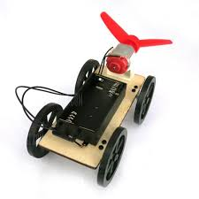DIY Car <b>Mini Wind Powered Toy</b> for Kids Puzzle Educational ...