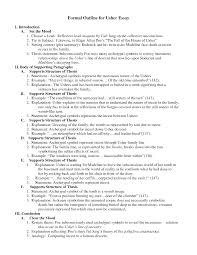 essay outline formal example of formal essay writing