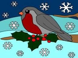 Výsledek obrázku pro ptacek v zime