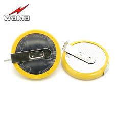 50pcs lot cr2025 button cell batteries 3v 3 feet welding solder pins 150mah bluetooth watch accessories 2025 coin battery