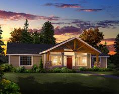ideas about Simple House Plans on Pinterest   House plans    Simple floor plan   none of the extra rooms we don    t use  Porch on front and large front windows to see the view  Have door off back