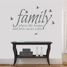 Small Picture Designs Classic Family Wall Art Stickers Uk With Painting Example