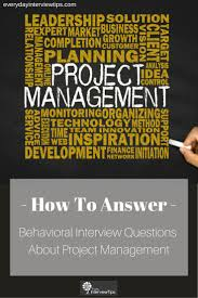 1000 images about interview tips questions answers on see our prepared answer to the interview question tell me about a project you have