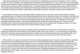 causes of american revolution essay  wwwgxartorg causes of american revolution history essaycauses of the american revolution war essay