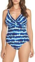 <b>One</b>-piece Swimsuit <b>Cross Front</b> - ShopStyle