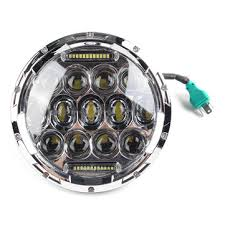 12v 75w <b>7inch</b> car <b>led headlights</b> modification <b>daytime running</b> lamp ...