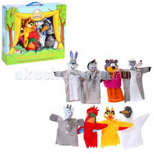 <b>Кукольный Театр</b> Потешки (8 <b>кукол</b>) <b>Жирафики</b> — купить в ...