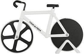 Bicycle Pizza Cutter - TOUR de PIZZA - Dual Stainless ... - Amazon.com