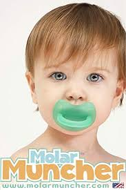 Molar Muncher <b>Infant Baby Teether Non Toxic Silicone Teether</b>
