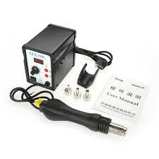 LED Display Rework Soldering Station Adjustable Hot Air Gun ₱533