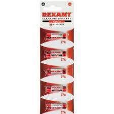 "<b>Батарейка 27A</b> ""REXANT"" 12 V 5 шт блистер 30-1043"