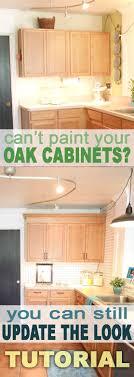 cabinet oak honey cabinets top