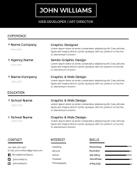 most professional editable resume templates for jobseekers best resume 7