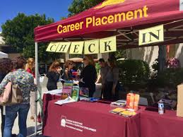 career fair offers opportunities for those on the hunt for a job over 100 businesses and organizations had booths at the saddleback college career fair on wednesday