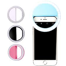 Selfie Ring Flash <b>Led Fill Light</b> Lamp <b>Camera</b> Photography Video ...