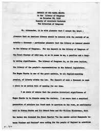deposit of the magna carta by archibald macleish  deposit of the magna carta by archibald macleish 28 1939 library of congress
