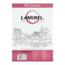 <b>Обложки</b> 100шт <b>Lamirel Transparent</b> A4, PVC, прозрачные, 200мкм