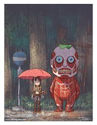 Mashup: <b>Attack on Totoro</b>