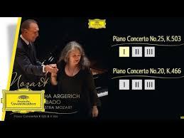 <b>Martha Argerich</b> & <b>Claudio</b> Abbado – Mozart: Piano Concertos ...