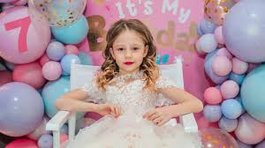 Nastya and her <b>Birthday Party</b> 7 years old - YouTube